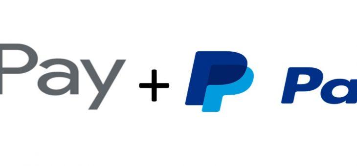 PayPal comienza a integrarse en Google Pay