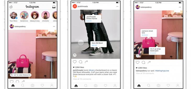 Instagram Shopping, una experiencia más sencilla para comprar