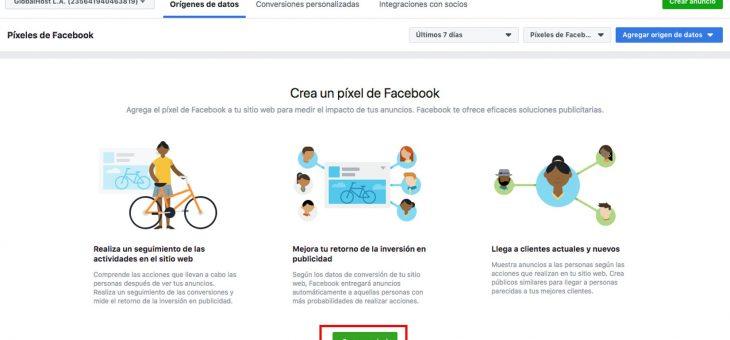 Cómo crear un pixel de Facebook e insertarlo en tu tienda
