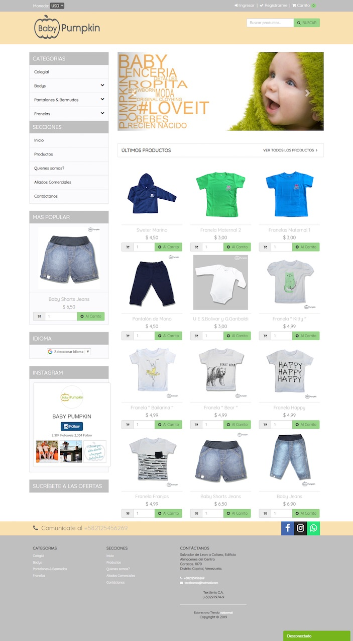 Tienda Virtual Autogestionable