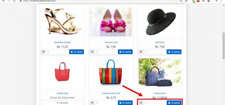 Pasos para comprar desde una Tienda Online Addonmall