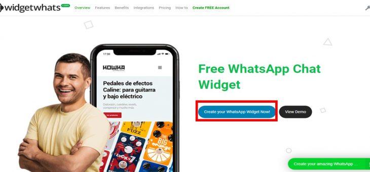Cómo instalar un widget de whatsapp en mi tienda online Addonmall.com