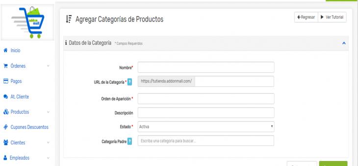Cómo agregar productos en tu Tienda En Línea: Datos Básicos, Precios, Asociar a Categorías/Subcategorías, Imágenes